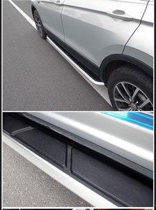Image 3 - באיכות גבוהה אלומיניום רכב לוחות ריצה אוטומטי צעד צד בר דוושות עבור פולקסווגן Tharu 2018 2019 רכב סטיילינג