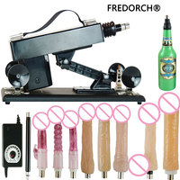 Fredorch sex machine with 10 dildo attachments sex product for men and women, automatic supplier love robot machine