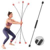 Barra elástica flexible desmontable, palo de Fitness para perder peso, entrenamiento muscular, Phyllis Tremor Rod Feilishi, equipo de entrenamiento de gimnasio