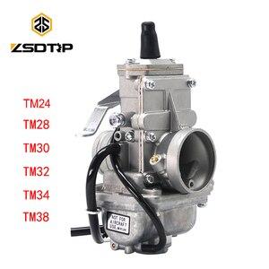 Image 1 - ZSDTRP עבור Mikuni קרבורטור Vergaser פחמימות TM24 TM28 TM30 TM34 TM32 TM38 שטוח שקופיות קרבורטור רז TM34 2 42 6100