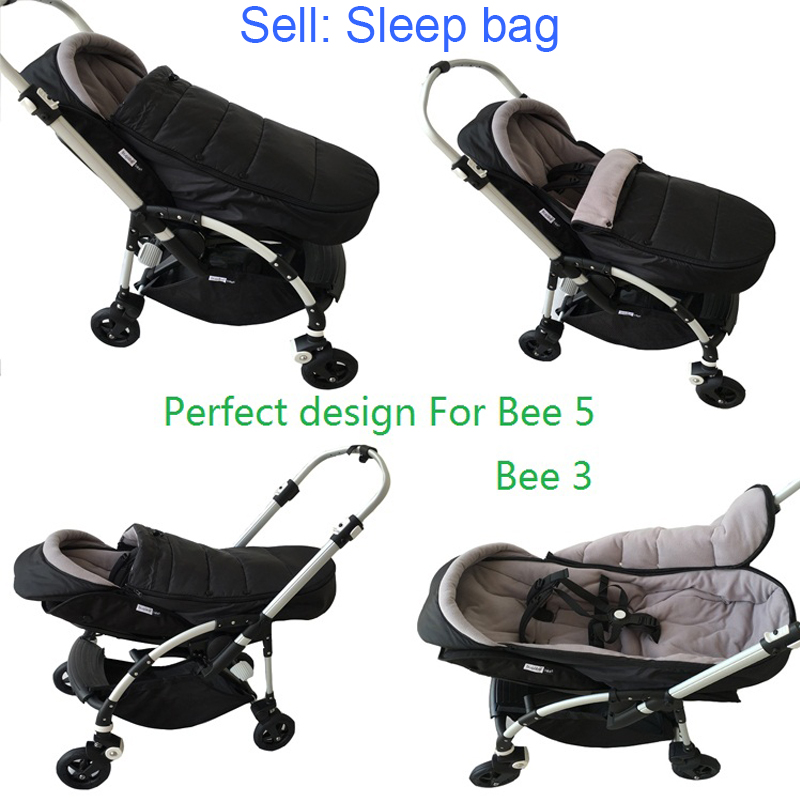 Bugaboo Bee Original Design Stroller Accessories Warm Sleep Bag Sleepsack Pram Winter Footmuff For Bugaboo Bee3 And Bee5