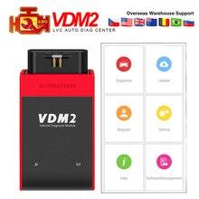 UCANDAS VDM2 Wifi Bluetooth, полная система, Авто OBD2 диагностический инструмент, сканер, новейший V3.9 Wifi на Android VDM II VDM 2 кода rader