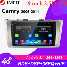 Android 8.1 2 Din 2G+32G Car Radio Multimedia Video Player For Toyota Camry 7 XV 40 50 2006-2011 GPS Navigation Head Unit+Frame