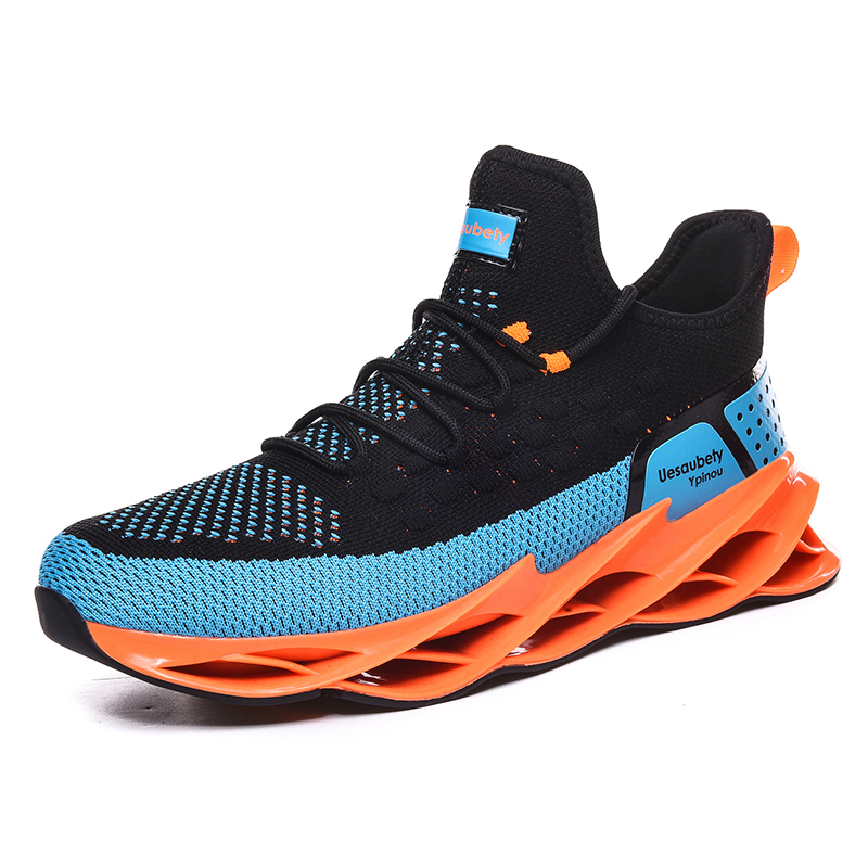 Spring Trend New Men Sport Shoes Sneakers Fashion Men Blade Shoes Men Light Breathable Running Shoes Men Jogging Walking Shoes