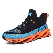 Spring Trend New Men Sport Shoes Sneakers Fashion Men Blade Shoes Men Light Breathable Running Shoes Men Jogging Walking Shoes