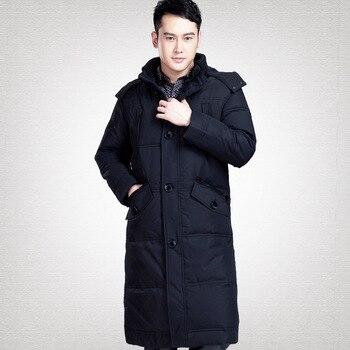 Men Men's Plus Winter Size White Duck Down Coat Puffer Jacket Warm Parka Doudoune Homme 127 YY1440