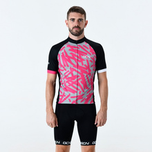 GCN cycling jersey pro team clothes men s short sleeve suit quick-dry breathable gel cushion ropa ciclismo aero clothing