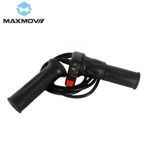Рукоятки скутера WUXING 36V/48V/60V Ebike поворотные ручки дроссельной заслонки с турбо-переключателем/индикатором батареи (детали скутера и аксессу...