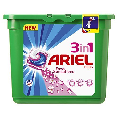 ARIEL - Lessive - Capsules 3en1 Pods Original X 38caps