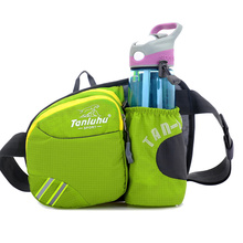 Custom Waterproof Ripstop Nylon Waist Pack, Multi Colors Fanny Pack Bag With Water Bottle Holder