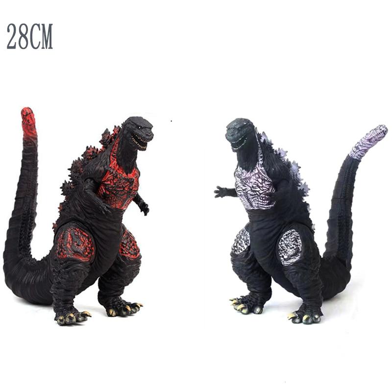 28cm Godzilla Figura Action Figure Movable Doll Model Toy Jongens Kid Kind Speelgoed Anime Cartoon Movie Monsters Gojira