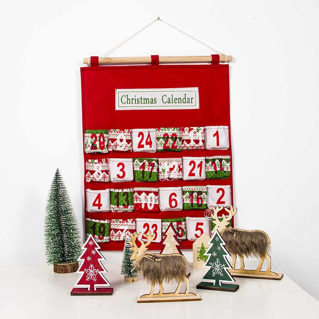 Natale 2021 Calendario.2021 Professionale Decorazioni Di Natale Creativo Buon Per Di Natale Avvento Calendario Tradizionale Attaccatura Di Parete Della Decorazione Calendari Dell Avvento Aliexpress
