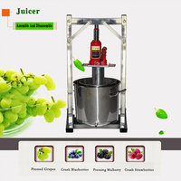 Press Grape Stainless Steel Large Capacity Fruit Crusher Household Filter Press Brewery Equipment Juicer Assembly Detachable