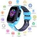 GEJIAN bambini orologi IPX7 impermeabile touch screen SOS chiamata di telefonia mobile dispositivo di posizionamento GPS tracker anti-perso per bambini orologio