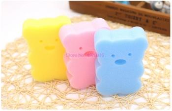 DHL 200 sztuk Baby Shower kran mycia szczotki do kąpieli ręcznik akcesoria dziecko szczotka szczotki do kąpieli gąbki pocierać bawełna tarcie ciała tanie i dobre opinie gąbka CN (pochodzenie) Baby Bath Sponge 0-3 M 4-6 M 7-9 M 10-12 M 13-18 M 19-24 M 2-3Y 4-6y 7-9Y 10-12Y 13-14Y Typ ramki