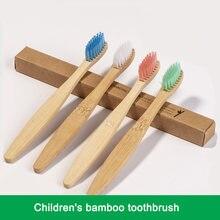 Горячая Распродажа 1 шт Экологичная бамбуковая зубная щетка