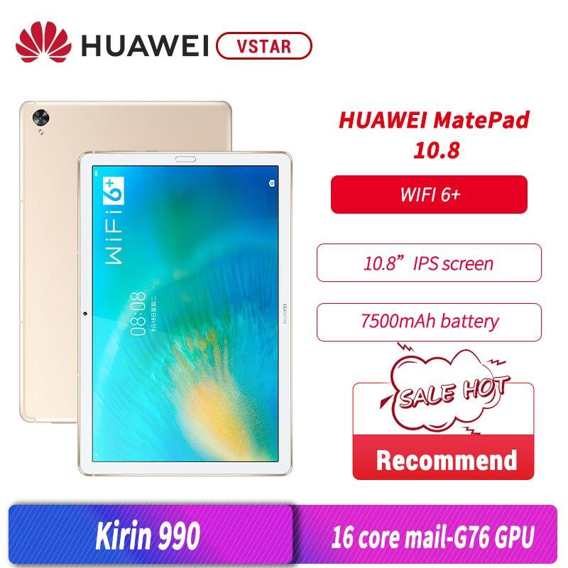 HUAWEI MatePad originale 10.8 pollici 2K FullView Kirin 990 Octa Core 7nm artigianato ID impronta digitale WiFi 6