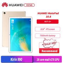 Original HUAWEI MatePad 10,8 zoll 2K FullView Kirin 990 Octa Core 7nm handwerk Fingerprint ID WiFi 6 +