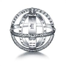 Strollgirl 100% 925 Sterling Zilver Astronomische Bol Ringen Sterrenbeelden Vinger Ring Voor Vrouwen Bruiloft Sieraden Geschenken