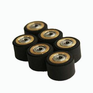 Image 4 - 10pcs Pinch Roller Roland Mimaki GCC Liyu Graphtec Inkjet Printer Vinyl Cutter Cutting Plotter Roll 5x11x16mm Rubber Copper Core