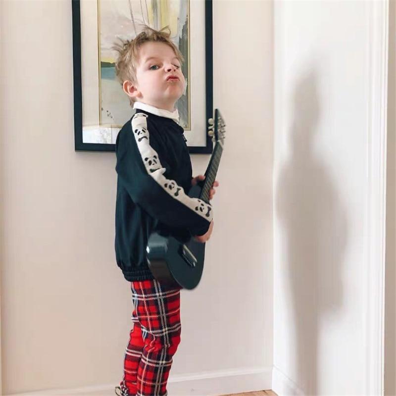 1-9Years Princess Kids Baby Girls Boys Panda Print Jacket Button Coat Outerwear Tops Clothes 6