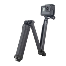 3 Way Selfie Stick Grip Waterproof Monopod Tripod Stand for GoPro Hero 8 7 6 5 4 Yi 4K Sjcam Eken for Go Pro Accessory Dropship portable hand grip waterproof selfie stick pole tripod for gopro hero 7 6 5 4 sjcam eken yi 4k dji osmo action camera accessory