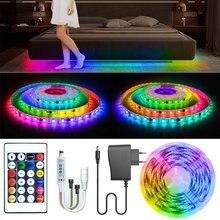LED şerit ışıkları WS2811 rüya renk SMD LED ışık RGB tek tek adreslenebilir akıllı esnek şerit RGB bant diyot DC 12V
