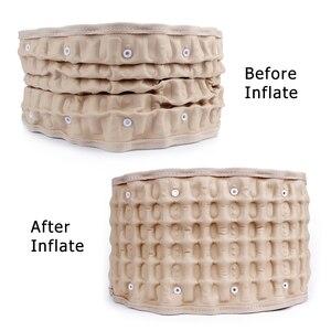 Image 4 - Lumbar Support Back Belt Spinal Air Decompression Lumbar Belt Air Traction Waist Belt Back Massage lower back support brace Belt