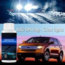 Liquide de réparation de phares de voiture, 20/30/50ml, anti-rayures, rénovation, revêtement, polissage, Agent de réparation, TSLM1
