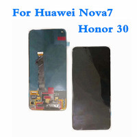 Original 6.53 LCD For Huawei Nova7 LCD Display Touch Screen Digitizer Assembly For Huawei Honor 30 Screen Display Replacement