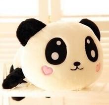 PLL Wholesale 20cm Cute Panda Doll Lie Prone To Bear Plush Toy Cartoon for Wedding Dolls Send Birthday Girl