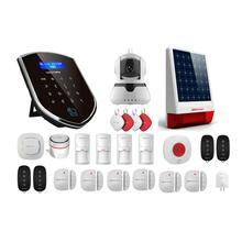 цена на Wolf-Guard WM3GR 3G Wifi Wireless Home Security Alarm System DIY Kit APP Control Motion Detector Sensor Burglar Alarm System