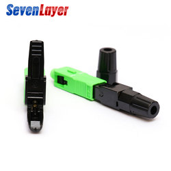 FTTH SC UPC single-mode fiber optic SC APC quick connector Fiber Optic Fast Connecto Telecommunication level