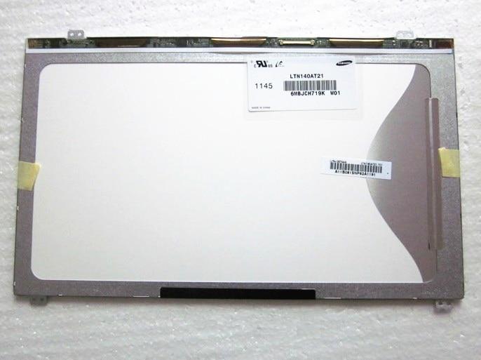 1 Pcs new LTN140AT21-001 1366*768 14.0 inch lcd laptop screen