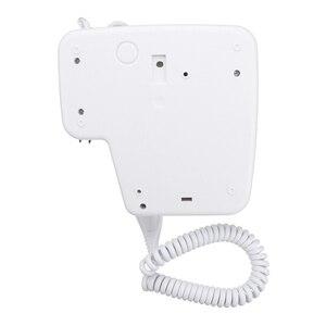 Image 5 - 220V 1300W 2 מצבי מתכוונן Usb שקע קיר תליית סוג חשמלי מלון בית אמבטיה מחזיק מייבש שיער סלון שיער לפוצץ Drye