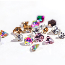 Glitter strass Sticky Gems crystal Rhinestones Nail Art Accessory Glass pointback DIY Nail art stone for nails patches crafts st mixed shape 100pcs crystal ab 3d nail art rhinestones flatback strass shiny glass nail stones gems for diy nails art decoration