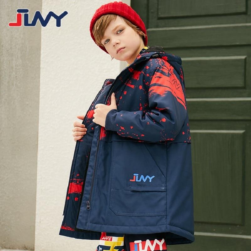 Осенне зимняя верхняя одежда для детей; теплое пальто; спортивные водонепроницаемые ветрозащитные утепленные куртки для мальчиков; детская одежда для От 8 до 15 лет|Куртки и пальто| | АлиЭкспресс