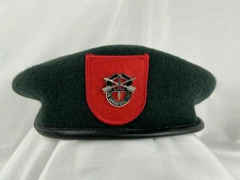 Tomwang2012 US Army 7 Siły specjalne grupa zielony beret siły specjalne Sf insygnia kapelusz tanie i dobre opinie CINESSD Z wełny