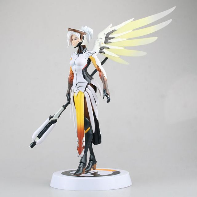Hasbro Overwatch Angela Ziegler Mercy Action Figures Model Toy with Accessories  Blizzard Video Game Characters 1