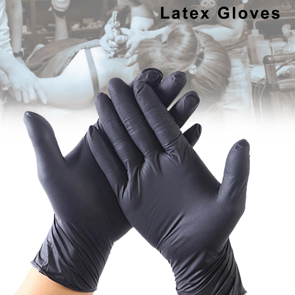 40pcs/lot Disposable Latex Gloves Universal Cleaning Gloves Multifunctional Home Food Medical Cosmetic Disposable Gloves Exam 4p