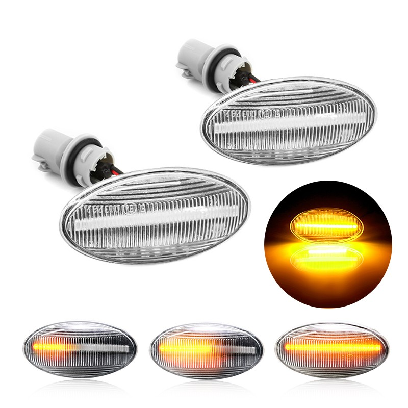 2x Osram Ultra Life Front Indicator Light Bulbs Repeater Signal Turning Lamps