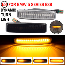 Dynamic Fender Turn signal For BMW 5 Series E39 M5 1998 2002 Led Light Side Marker Sequential Lamp 1996 1997 1999 2000 2001 2002