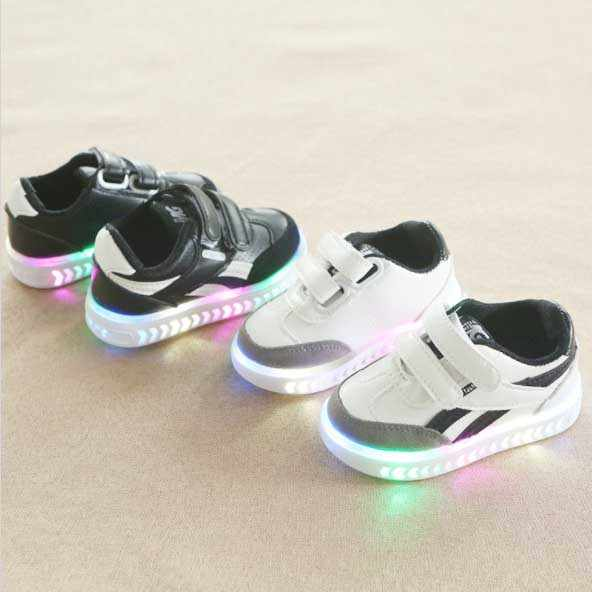 leather Shoes fashion Kids trainer Baby