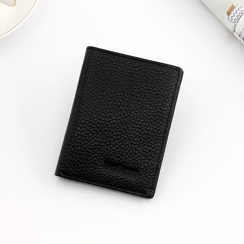 Premium Designer Véritable Cuir Souple Portefeuille Carte de crédit titulaire Union Jack Mini