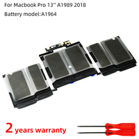 SZTWDONE A1964 Laptop battery For APPLE MacBook Pro 13 Inch A1989(2018 )11.41V 58WH 5086mAh