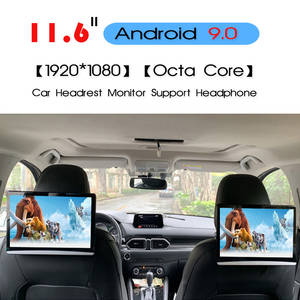 KANOR Monitor Car-Headrest Sd-Hdmi Android-9.0 Video-Player Touch-Screen WIFI 1080P BT