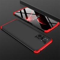 3 IN 1 Fall Für Xiaomi Redmi Hinweis 10 Pro Fall 360 Volle Schutz Fall Shockprrof Matte Abdeckung Für Redmi hinweis 10 Pro 10PRO 6.67