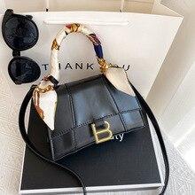 Designer Luxury Soft Top-Handle Tote Women Alligator Leather Hourglass Handbag Girl Brand B Metal Shoulder Messenger Bags Female
