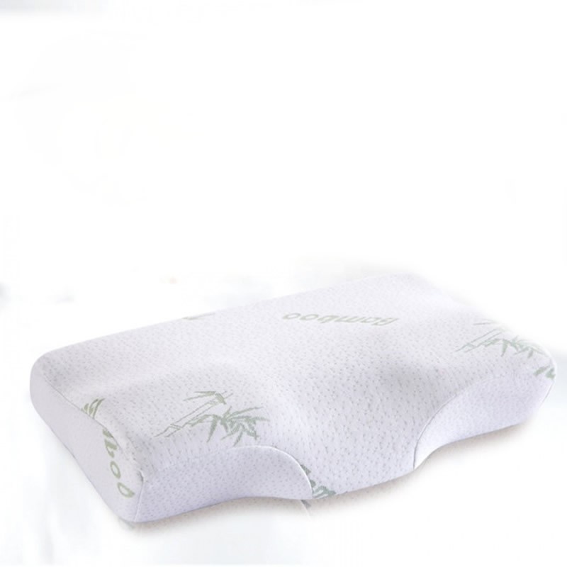 White Pillow Massager For Cervical Memory Foam Pillow Orthopedic Pillow Latex Neck Pillow Rebound Polyester Soft Memory Pillow in Bedding Pillows from Home Garden