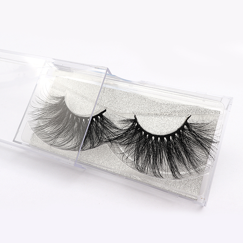 30mm 5D Lashes Real Mink Fake Eyelashes Super Long Professional Make Up Thick Long Mink Lashes High Volume Lash Extension